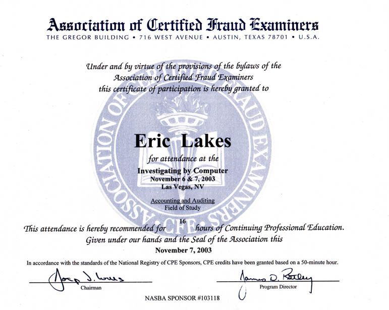 FRAUD EXAMINER CERTIFICATE DRIVER LICENSE ORIGINAL FORMAT, DESIGN SPECIFICATIONS, NOVELTY SECURITY CARD PROFILES, IDENTITY, NEW SOFTWARE ID SOFTWARE FRAUD EXAMINER CERTIFICATE driver