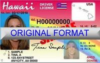 Hawaii Fake ID