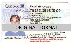 Quebec Fake ID