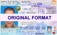 Idaho DRIVER LICENSE ORIGINAL FORMAT, DESIGN SPECIFICATIONS, NOVELTY SECURITY CARD PROFILES, IDENTITY, NEW SOFTWARE ID SOFTWARE Idaho driver