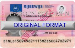 Buy Netherland Fake Driver Licensefake netherland drivers license fkae ids