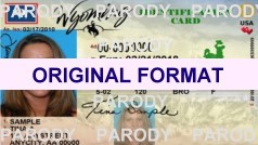 fake id wyoming scannable with holograms